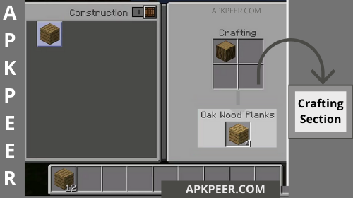 Minecraft Crafting table